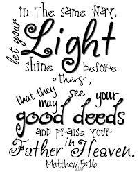 let your light shine 2