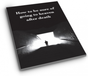 how to be sure of going to heaven at death 3d cover